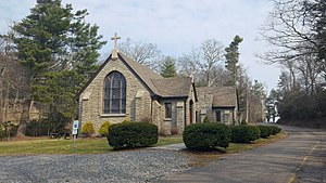 Green Park Historic District - Church of the Epiphany (1948)