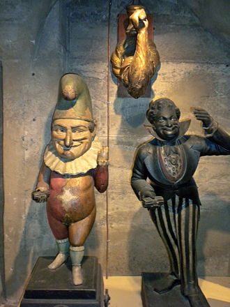Tobacconist - 19th century cigar store figures from Mercer Museum in Doylestown, Pennsylvania.