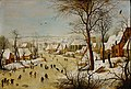 Circle of Pieter Bruegel the Elder - Winter Landscape with a Bird Trap.jpg