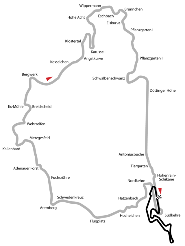 List Of Nordschleife Lap Times Racing