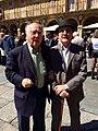 Cirilo Flórez y Valentín Cabero en Salamanca.jpg