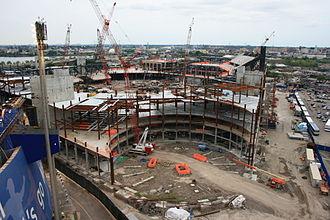 Citi Field - Citi Field under construction on September 14, 2007.