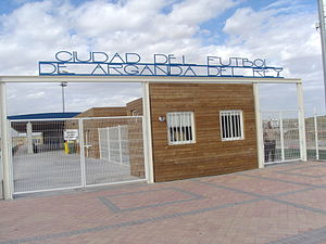 AD Arganda - Arganda's City of Football.