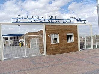 AD Arganda - Arganda's City of Football.