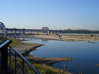 Jeffersonville Township, Clark County, Indiana - The Ohio River from Jeffersonville Township
