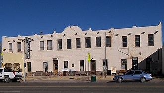 National Register of Historic Places listings in Culberson County, Texas - Image: Clark hotel vanhorn 2009