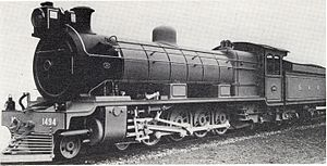 South African Class 12 4-8-2 - Image: Class 12 no. 1494