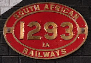 South African Class 1A 4-8-0 - Image: Class 1A 1293 (4 8 0)