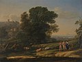 Claude Lorrain - Landscape with Cephalus and Procris Reunited by Diana - WGA04994.jpg
