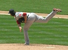 Clay Buchholz at Red Sox at A's 2010-07-21 1.JPG
