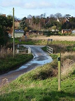 Clay Lane towards Lavenham - geograph.org.uk - 1598230