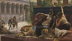 Alexandre Cabanel: Cleopatra Testing Poisons on Condemned Prisoners