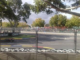 Adelaide 500 - Turn 9.