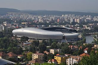 FC Universitatea Cluj - Cluj Arena, the current home ground of U Cluj