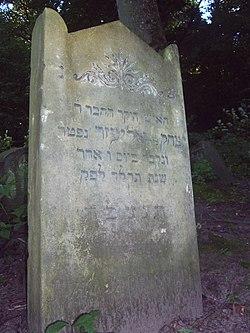 Cmentarz żydowski- Debrzno Wieś 05.JPG