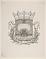Coat-of-Arms Symbolic of the City of Paris with the motto- It Rocks But Does Not Sink MET DP813387.jpg