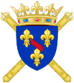 Coat of Arms of Louis Joseph, Prince of Condé.svg