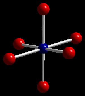 Cobalt(II,III) oxide - Image: Cobalt(II,III) oxide xtal 2006 Co(III) coord CM 3D balls