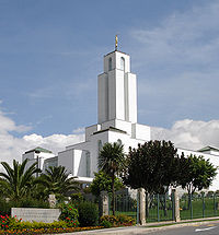 Cochabamba Mormon Temple By Antipus (Own work) [CC-BY-SA-3.0 (http://creativecommons.org/licenses/by-sa/3.0)], via Wikimedia Commons
