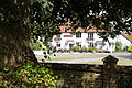 Cock Inn from St Mary's churchyard Henham Essex England.jpg