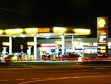 Coles Express service station in Clontarf, Queensland
