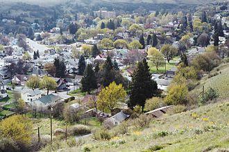 Colfax, Washington - Colfax, looking southeast