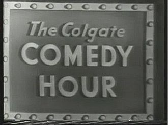 The Colgate Comedy Hour - Title card from 1951