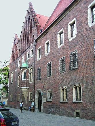 Jagiellońska Street, Kraków - Image: Collegium Maius 08