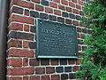 Colonial Annapolis Historic District - Reynolds Tavern plaque.JPG