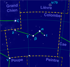 image illustrative de l'article Colombe (constellation)