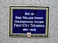Commemorative plaque-King William Street - geograph.org.uk - 1171883.jpg