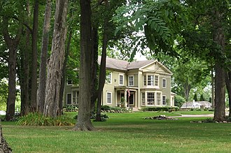 National Register of Historic Places listings in Oakland County, Michigan - Image: Commerce MI Andrews Leggett House