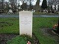 Commonwealth War Grave in Jarrow Cemetery (WW2-19) - geograph.org.uk - 1604871.jpg
