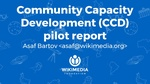 Community Capacity Development Pilot Report, WMCON 2017.pdf