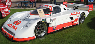 Spice Engineering - An Acura-powered Spice SE91P from the IMSA GT Championship.