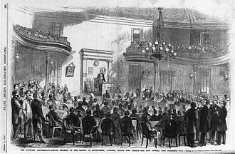 Confederate States Congress - Provisional Confederate Congress, 1861