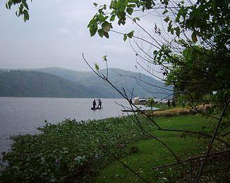 Congo River - The Congo River at Maluku.