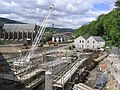 Construction work in Galashiels - geograph.org.uk - 247795.jpg