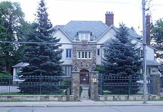 Canada–Poland relations - Image: Consulate General of the Republic of Poland in Toronto