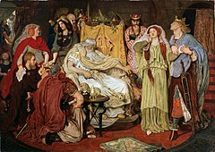 Cordelia's Portion by Ford Madox Brown