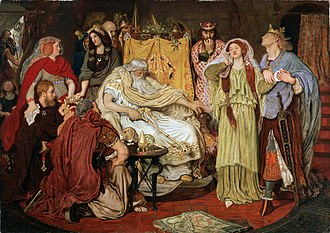 """Dower - """"Thy truth, then, be thy dower"""". King Lear"""