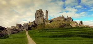 Corfe Castle - Image: Corfe Castle, Dorset