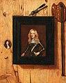 Cornelis Norbertus Gijsbrechts (Attr.) - Trompe-l'oeil with a portrait of a soldier, a portrait miniature and a palette.jpg