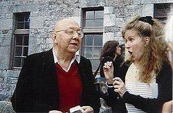 Cornelius Castoriadis, in lively conversation with dancer-choreographer Clara Gibson Maxwell