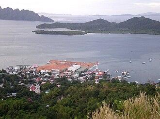 Coron, Palawan - Image: Coron from Mount Tapyas