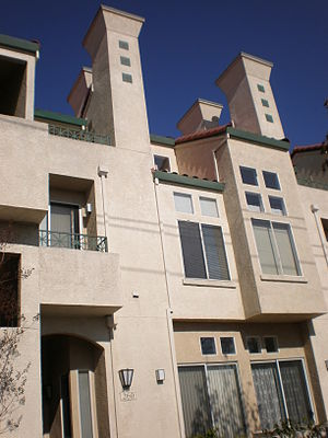 The Corte Bella condominium complex in San Mat...