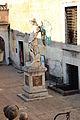 Cortile dell'angelo, statua di san michele di raffaello da montelupo, 02.JPG