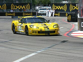 Chevrolet Corvette C6.R - The C6.R in 2008, now running E85 ethanol fuel.