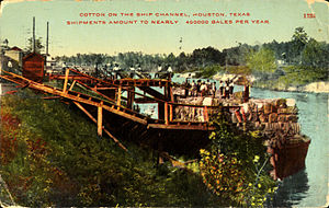 Cotton on the Ship Channel, Houston, Texas (1914).jpg