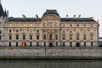 Court of Cassation (France) - The building of the Court of Cassation